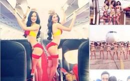 VietJet Air lên tiếng chuyện Ngọc Trinh chụp bikini trên máy bay