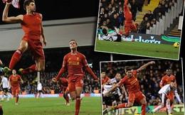 """Gà trống """"bóp chết"""" Chích chòe, Liverpool khó nhọc vượt Fulham"""