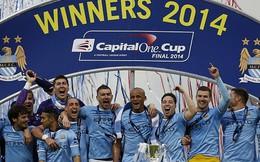 Man City vô địch League Cup bằng 2 khoảnh khắc thiên tài