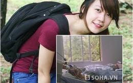 Xót xa khi nhìn những hình ảnh của nữ sinh bị xe đâm ở Xã Đàn