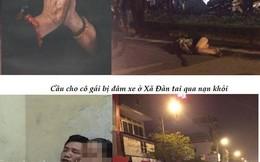 Dân mạng cầu chúc nữ sinh bị xe đâm ở Xã Đàn sớm bình phục