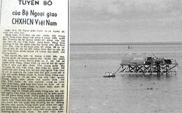 Hải chiến Trường Sa: Đọc lại Tuyên bố của Bộ Ngoại giao Việt Nam