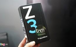 Đập hộp BlackBerry Z3: Quyến rũ khó tin với mức giá 5 triệu