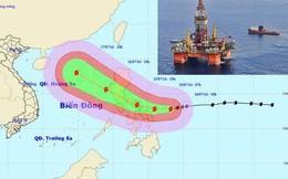 Giàn khoan Trung Quốc sẽ không tháo chạy để tránh bão Rammasun
