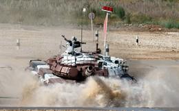 Đua xe tăng Quốc tế: T-72B Nga sẽ đè bẹp Type-96A Trung Quốc?