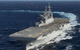 Mỹ gây tranh cãi với tàu đổ bộ không có... khoang đổ bộ