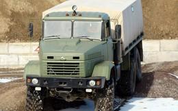 Quân đội Lào sắm xe tải hạng nặng KrAZ-6322