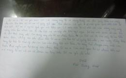 Người giúp bác sĩ Tường ném xác chị Huyền viết thư gửi mẹ