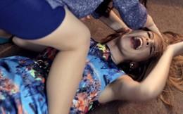 Hot girl Andrea lại bị 'đánh'!