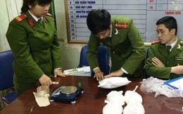 Khởi tố một đại úy công an vận chuyển ma túy