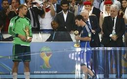 Messi được trao nhầm QBV World Cup?