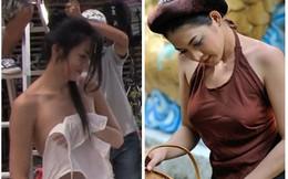Những chiếc áo yếm phản cảm của sao Việt