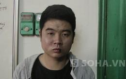 Một thanh niên bịt khẩu trang, cầm dao cướp táo tợn ở Hà Nội