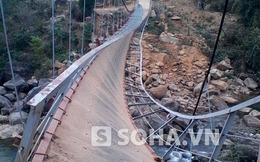 Thông đường tạm nơi cầu treo làm chết 9 người ở Lai Châu