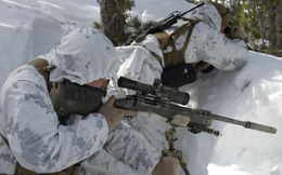 Đào tạo xạ thủ bắn tỉa trong băng giá ở Mỹ
