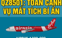 INFOGRAPHIC: Toàn cảnh vụ chuyến bay QZ8501 mất tích