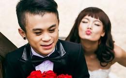 Rò rỉ ảnh cưới của cặp đôi đũa lệch chú lùn và cô người mẫu