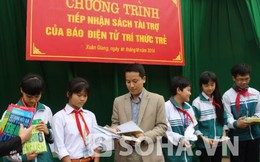 Học sinh nghèo Sóc Sơn ước có 50.000 đồng mua sách, truyện