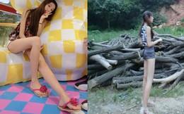 Thực hư chuyện cô gái xinh đẹp chân dài nhất Trung Quốc