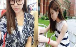 Dân mạng ngất ngây với nhan sắc xinh đẹp của nữ du học sinh