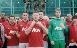 """Rooney cực """"ngầu"""" trong """"Anh không đòi quà"""" phiên bản Man United"""
