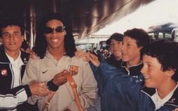 Sao Man United bất ngờ... tỏ tình với Ronaldinho