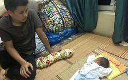 Gạt nỗi đau mất vợ, ông bố trẻ lặn lội xin sữa nuôi con