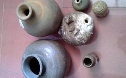 Quảng Bình: Phát hiện nhiều hiện vật cổ