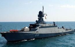 Gần 20 đội tàu Hạm đội Caspian - Nga diễn tập báo động
