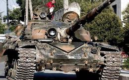 """""""Vua chiến trường"""" T-72 của Syria"""