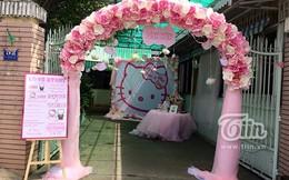 Đám hỏi 'Hello Kitty' siêu dễ thương của cặp 8x Việt