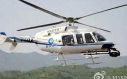 Trung Quốc: Rơi trực thăng, 4 người tử nạn