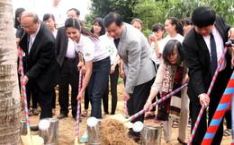 Lễ trồng 13.000 cây ở khu mộ Đại tướng Võ Nguyên Giáp