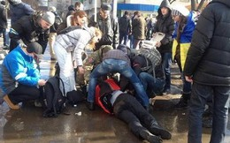 Ukraine: Đánh bom tại Kharkov gây nhiều thương vong