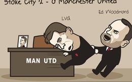 """Sếp lớn"" Man United túm áo đòi đuổi Van Gaal"