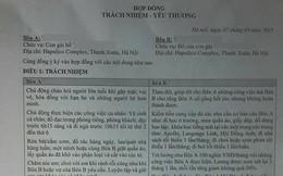 Hà Nội: 2 bố con cùng thực hiện bản hợp đồng kỳ lạ
