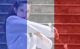 Tài nữ taekwondo chia sẻ nỗi đau của nước Pháp