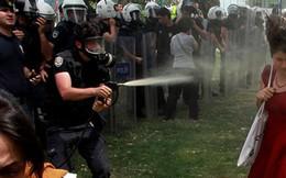 Bị phạt trồng 600 cây xanh do xịt hơi cay vào người biểu tình