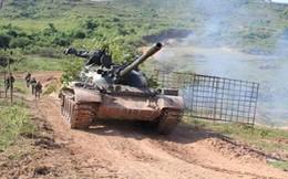 Diễn tập hợp đồng quân binh chủng thực binh bắn đạn thật