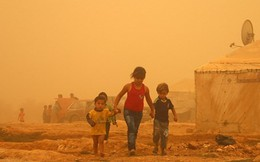 Bão cát 'quái vật' tấn công Trung Đông, 8 người thiệt mạng