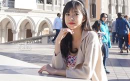 Vẻ đẹp không tì vết của du học sinh Việt cao 1m72