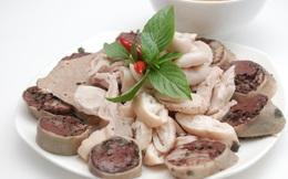 Lòng lợn và những điều cấm kị khi ăn