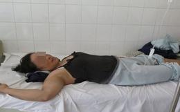 Sập giàn giáo: Nạn nhân bị cây sắt xuyên từ bụng lên ngực