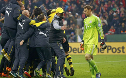 """Trượt 4 quả penalty, Bayern """"chết trước cửa thiên đường"""""""
