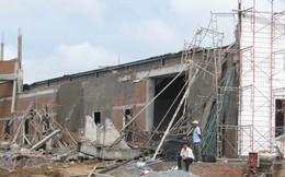 Sập công trình xây dựng nhà hàng tiệc cưới, 3 người thương vong