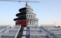 """Trung Quốc đã đạt tới đỉnh cao """"hàng nhái"""" với tòa nhà nửa Washington nửa Bắc Kinh này"""