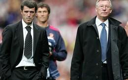 """Alex Ferguson hớn hở tiếp chuyện Beckham, tránh Keane như """"tránh tà"""""""