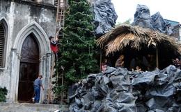 Ảnh: Các nhà thờ lớn ở HN trang hoàng lộng lẫy đón Noel