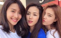 Bộ ba bạn thân mới trong giới hot girl Việt