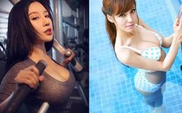 Những hot girl mới nổi nhờ vòng 1 siêu khủng